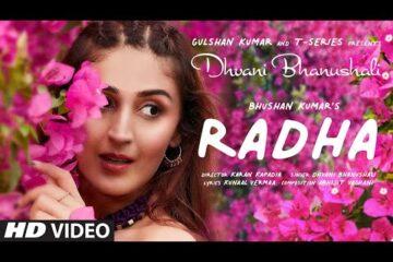Radha Guitar Chords Dhvani Bhanushali
